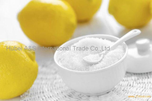 Natural additives Citric acid monohydrate makes food better