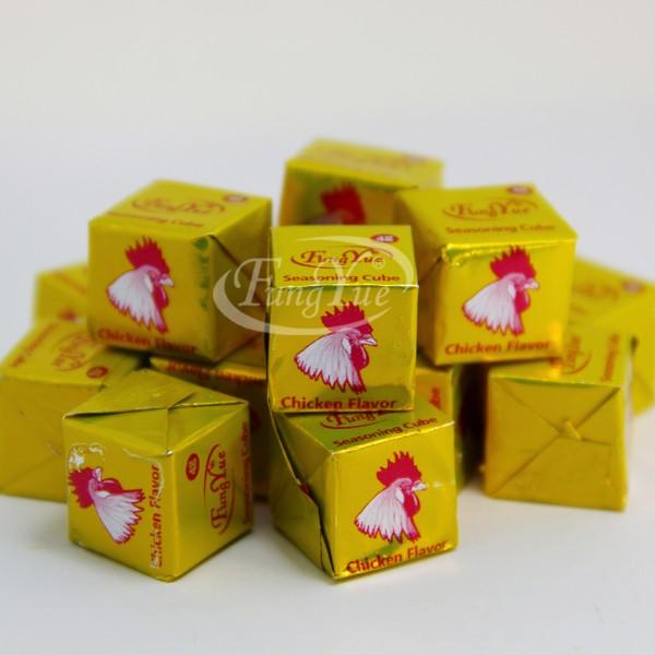 4gr Cube de Bouillon Poulet Saveur