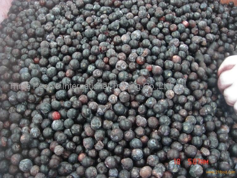 IQF Blueberry, frozen blueberry