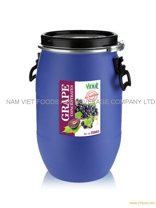Concentrates_Grape 200kg