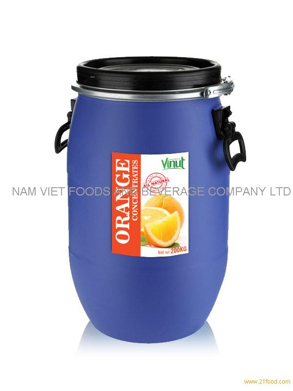Orange juice Concentrates 200kg