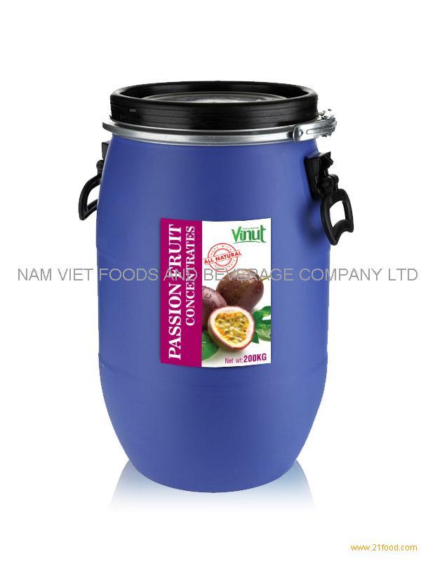 Passion juice Concentrates 200kg