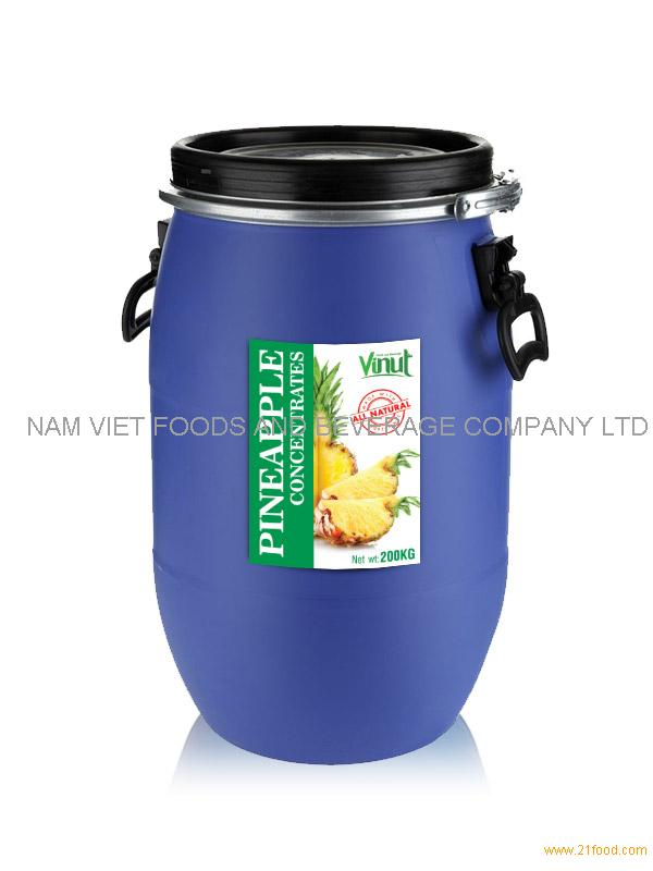 Pineapple juice Concentrates 200kg