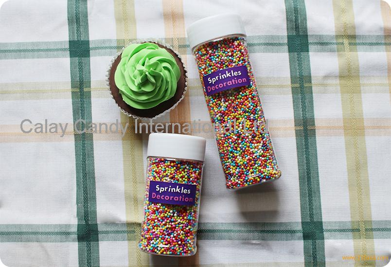 Sprinkles Nonpareils / Edible Cake Decorations
