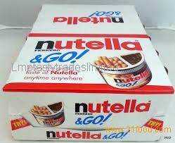 Ferrero Nutella & Go Chocolate Hazelnut Cream and Biscuits Snack 52gr