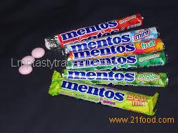 MENTOS GUM ICE FLURRY 45CT 6pack (10.17gr)