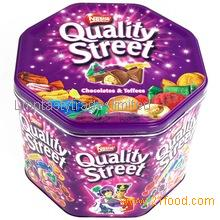 Nestle Quality Street Chocolate on Stock
