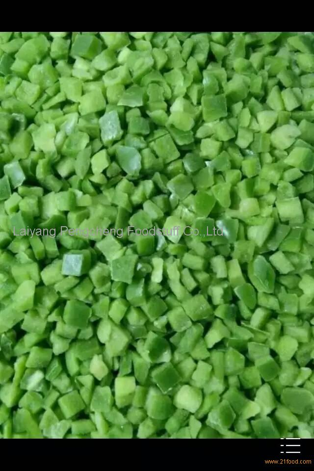 diced green pepper - photo #49