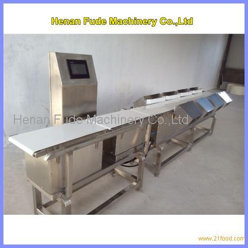 potato weight sorting machine, potato weight grading machine