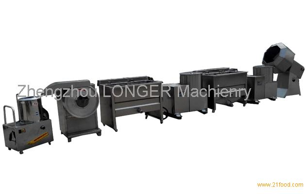 Semi Automatic Potato Chips Production Line