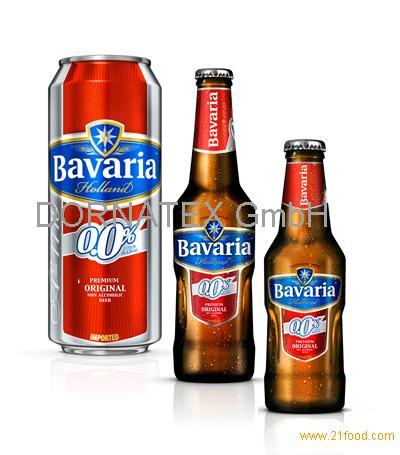 BAVARIA 0.0% NON ALCOHOLIC BEER