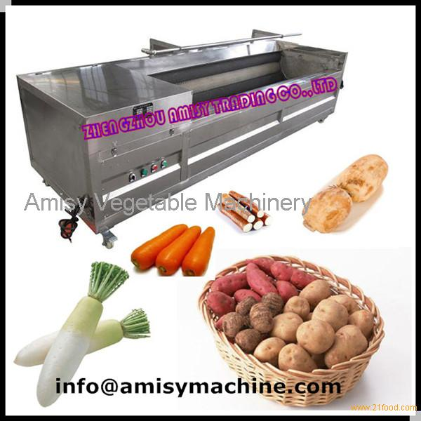 vegetable peeling machine