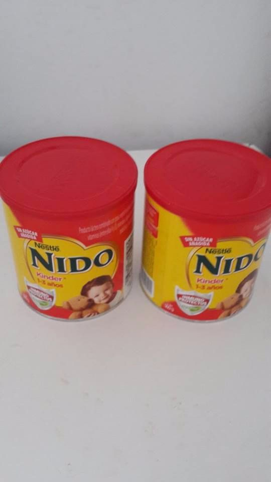 Nestle Nido Milk red cap