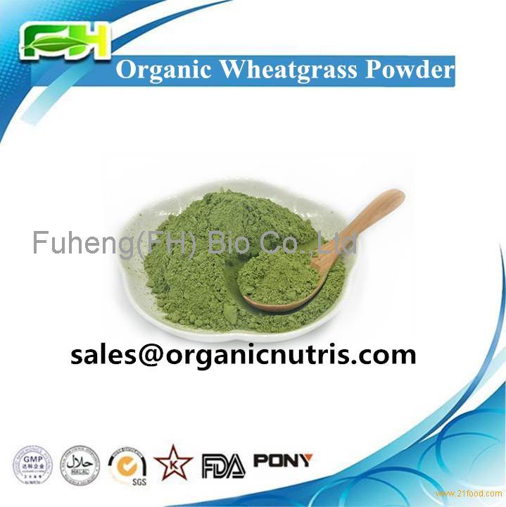 New Certified Organic Wheat Grass Powder