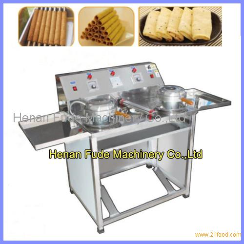egg-biscuit-roll machine, egg roll making machine