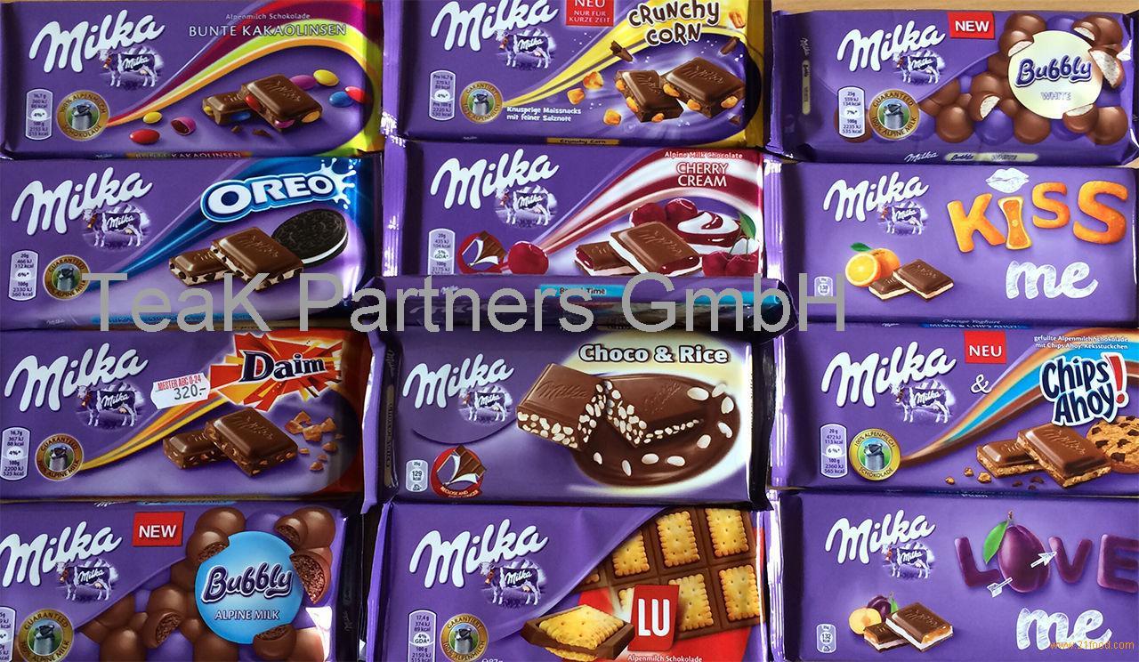 Milka Alpine Milk Chocolate Raisin&Nut 20*100g