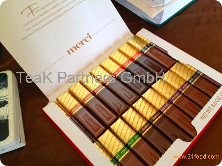 MERCI 112g Nougat Chocolate
