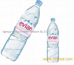 Evian Mineral Water 33, 50, 150cl