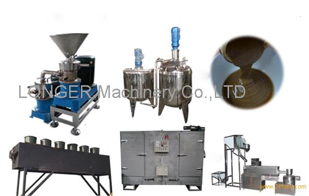 Commercial 300 kg/h Sesame Tahini Production Line for Sale