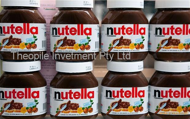 Ferrero chocolate, Snickers, Mars, Bounty Twix, Kitkat kinder bueno