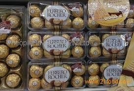 High quality chocolate gift box nutella chocolate ferrero/kinder chocolate for gift