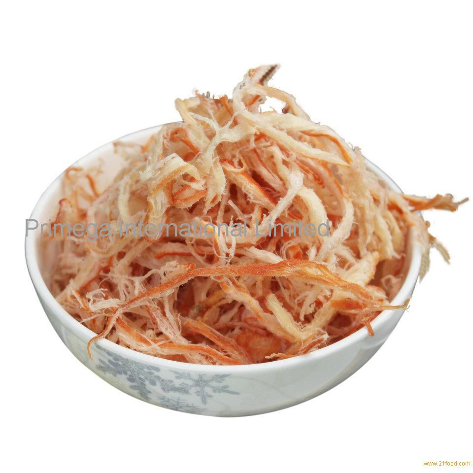 Dried Seasoned Shredded Squid