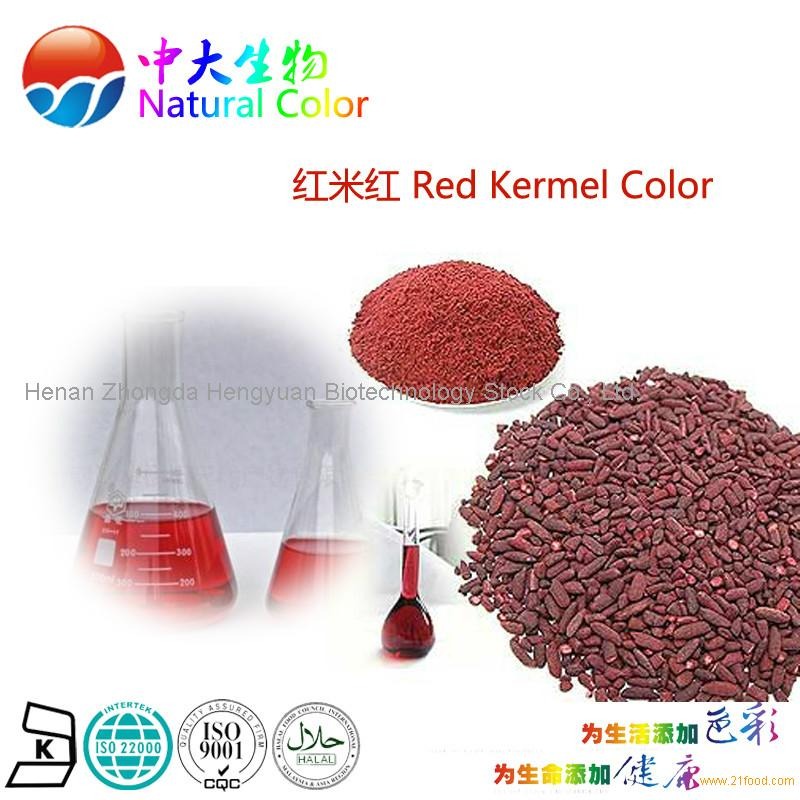 natural red kermel color food additives pigment