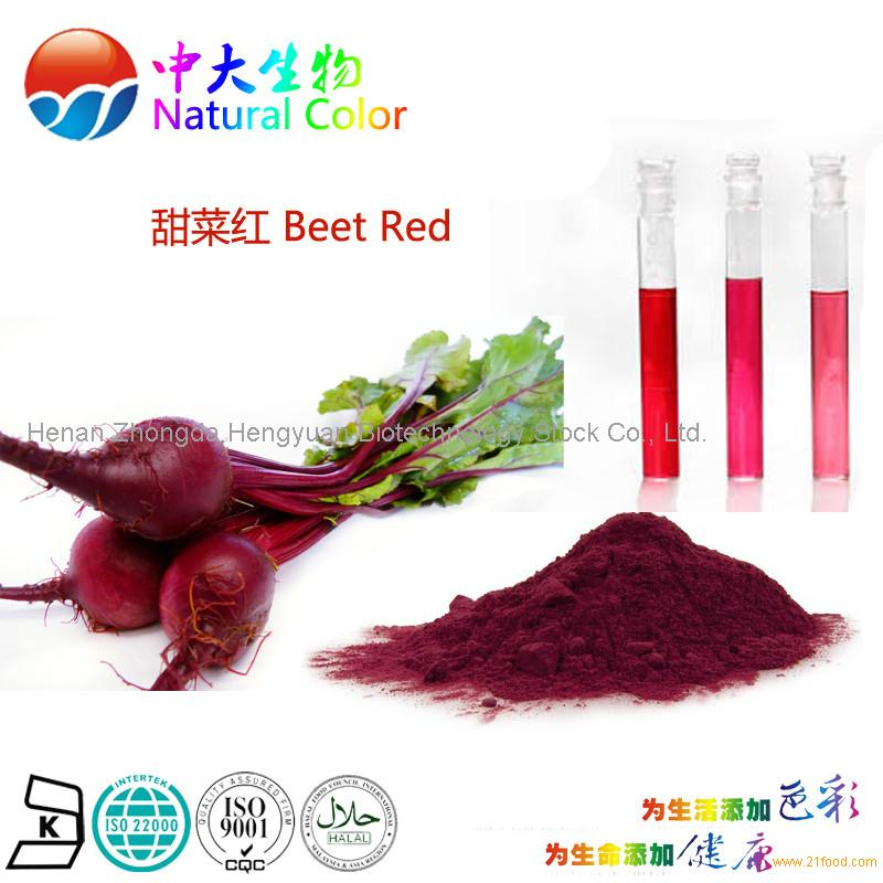 natural colour beet red food additives pigment