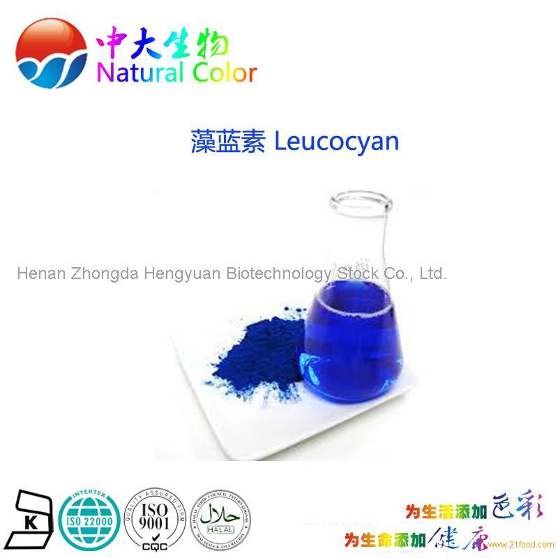 natural food color/colour leucocyan pigment supplier/factory