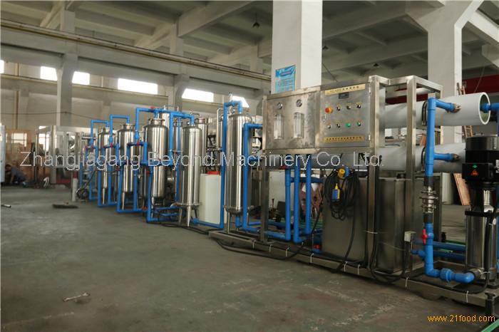 Beyond 10T/H pure /mineral water purification treatment machine