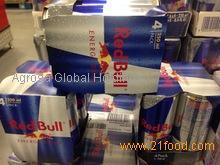 Premium Red Bull Energy Drink.