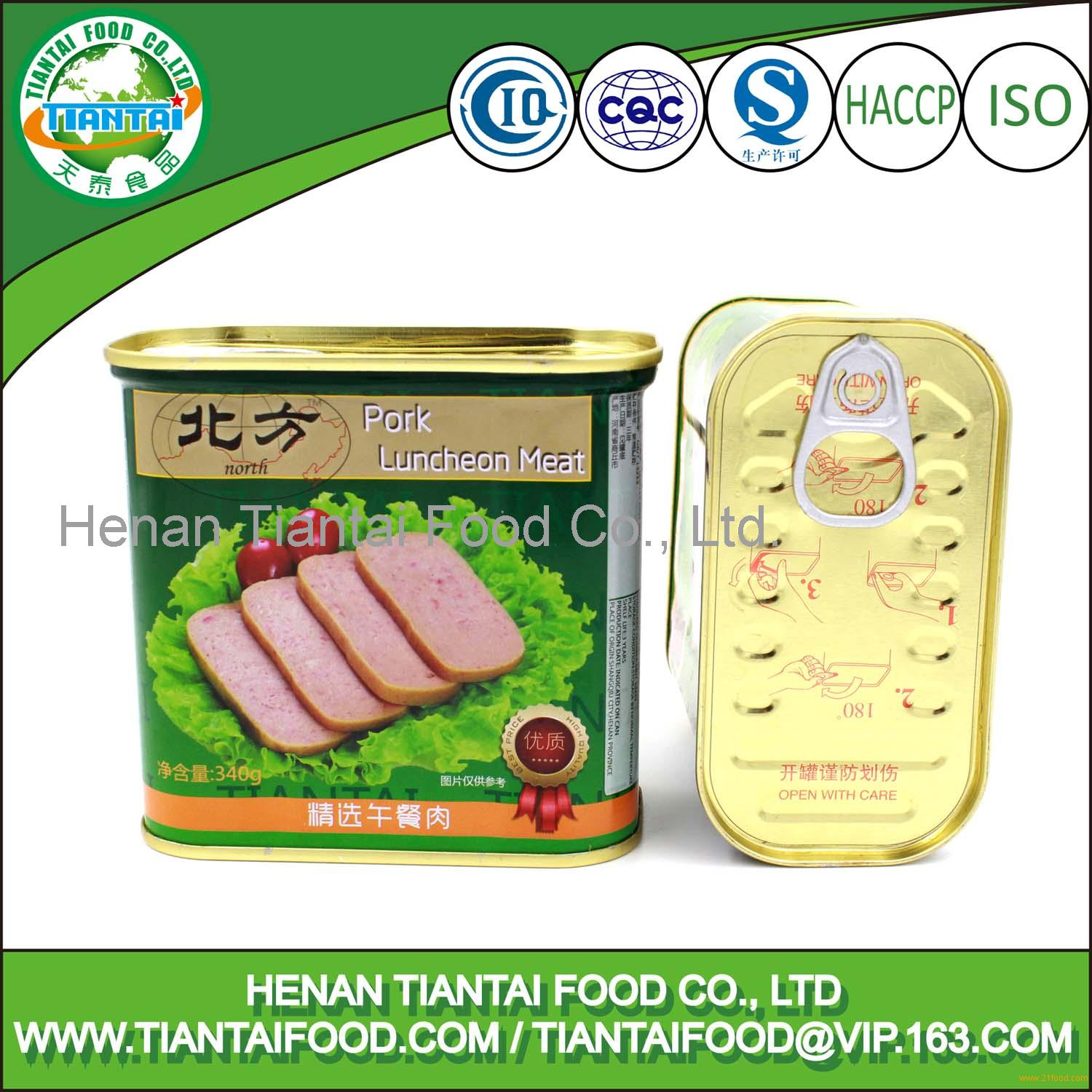 Chinese Food Canned Manufacturer