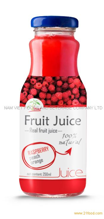 250ml Raspberry Juice