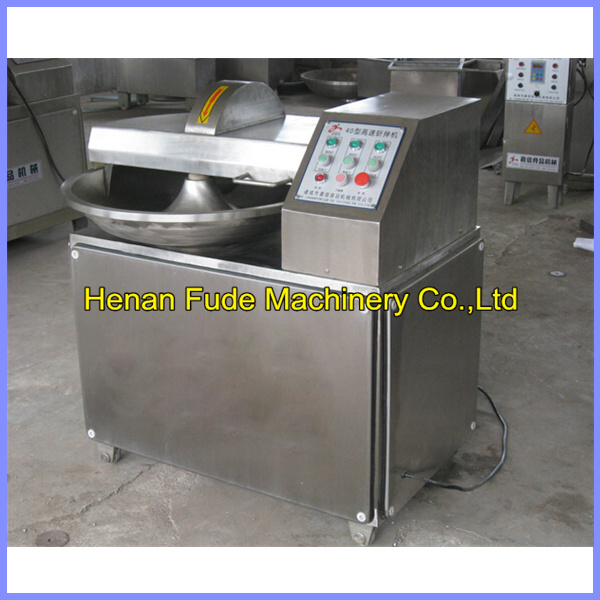 meat bowl cutter, sausage meat chopping machine