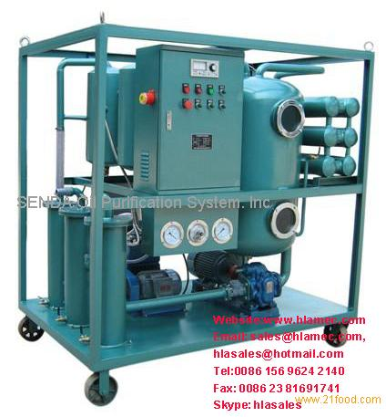 Waste Indutrial Hydraulic Oil Recycling Purifier