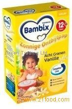 Bambix Baby Cereals and Porridge | Full Assortment