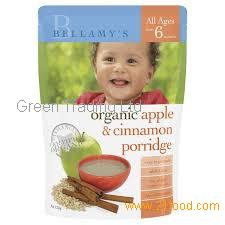 Bellamy's Organic Baby Rice Cereal (From 4 months) 125g Infant Health (Certified Organic) halal