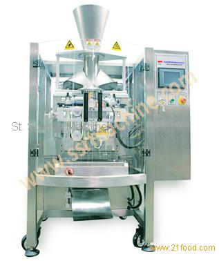 Snacks food like Potato chips, Plantain chips, biscuits, candy packing machine