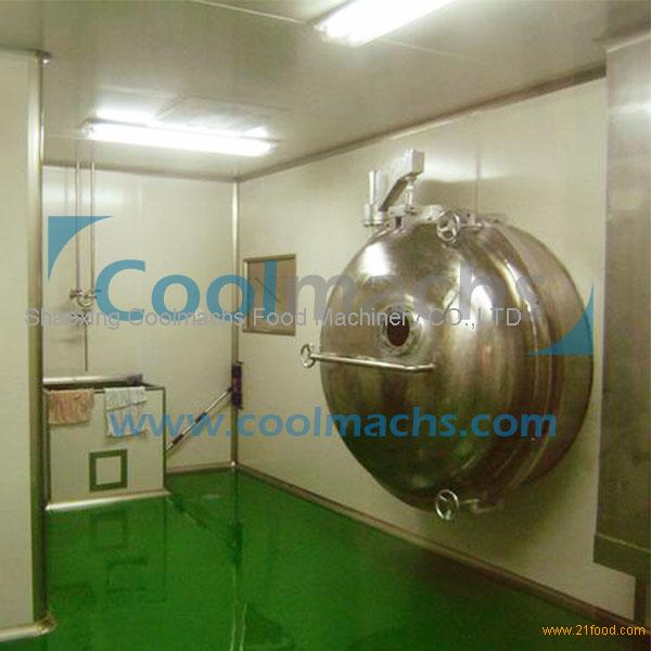 freeze drying machine for food