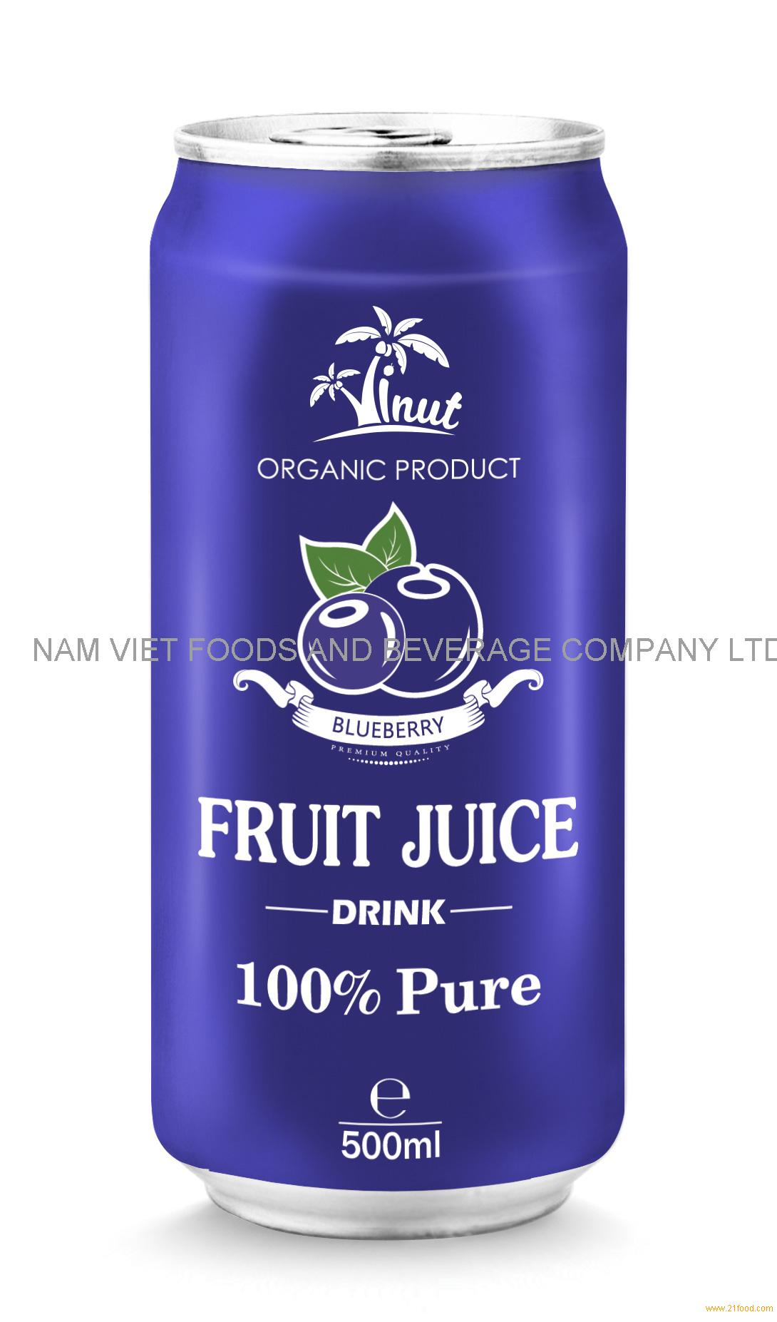 500ml Blueberry Juice