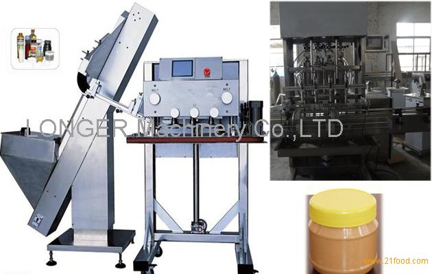 High Quality Automatic Peanut Butter Filling and Capping Machine