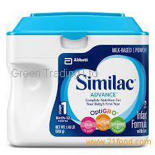 Similac Formula/ Similac Advance Infant Formula/ baby milk powder wholesale