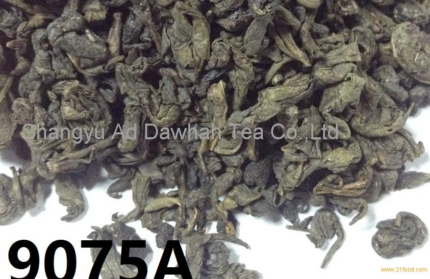 CHINA GREEN TEA 9075A EXPORT TO AFGHANISTAN MARKET