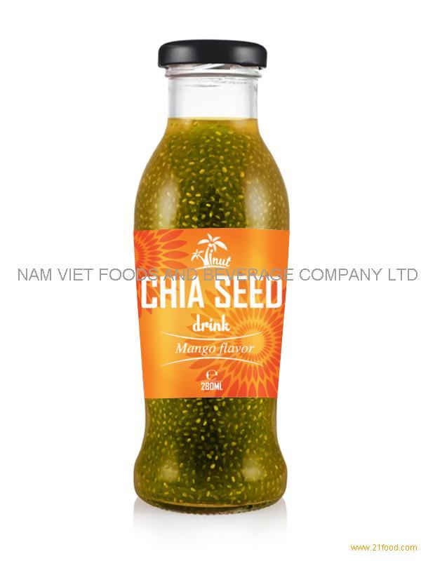 280ml Mango Flavor Chia Seed Drink