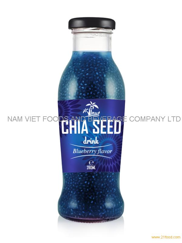 280ml Blueberry Flavor Chia Seed Drink