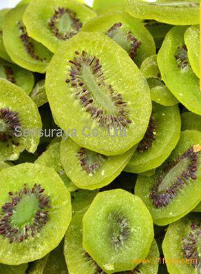 Dried organic kiwifruit