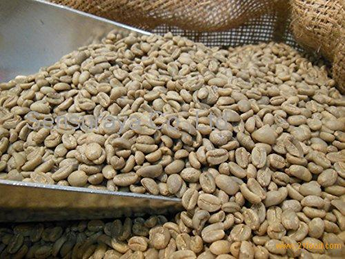 Natural Organic Unroasted Arabica Coffee Bean