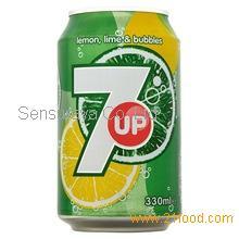 7UP Lemon, Lime 330ml x 24 units Soft Drinks,