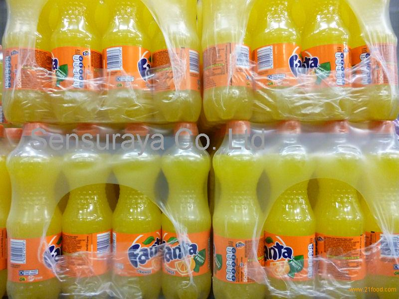 Fanta Orange Bottles (UK) 500ml