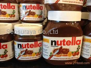 Nutella Chocolate Cream 350g 400g 600g 750g 800g with Multi Language text